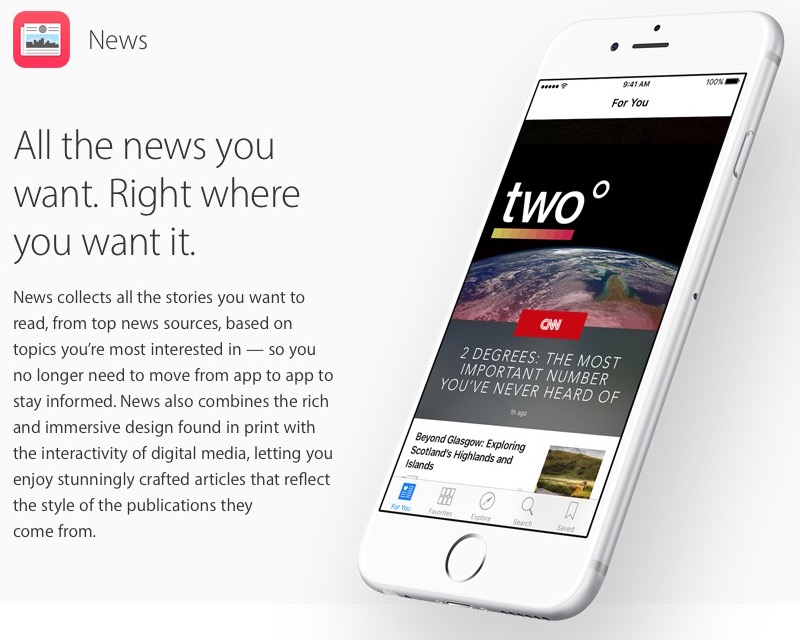 Apple News helps drive online news subscriptions